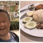 Lelaki Inggeris ini sanggup menempuh perjalanan 9600km hanya semata-mata untuk nasi lemak